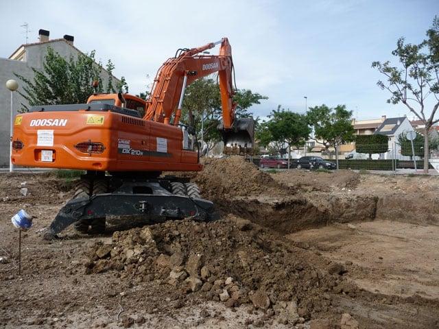 Ejecución de excavaciones y rellenos