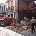 Demolición casa de pueblo 1