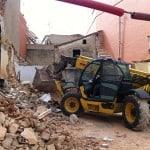 Demolición casa de pueblo 2