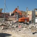 Demolición de inmueble