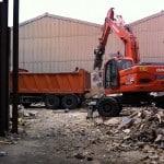 Demolición industria