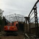 Demolición nave